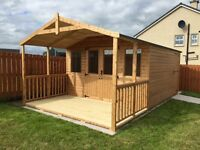 Quality custom made garden sheds, summer houses, garden rooms and playhouses.