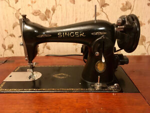 1951 Singer Sewing Machine with Cabinet