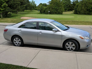 2007 Toyota Camry, 4 cylinder.
