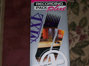 New - MXL Recording Pack Plus - Two High Quality Studio Mics!