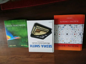 3 ENGINEERING BOOKS FROM 2YEAR TO 4 YEAR