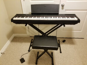 Yamaha P105 88 Note Digital Piano with sustain pedal