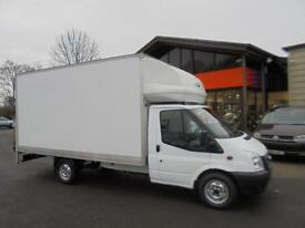 2012 FORD TRANSIT 125 T350 FWD LUTON VAN BOX VAN TAIL LIFT