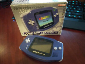 GAMEBOY ADVANCED Gameboy Advanced GBA & Box! MEDABOTS