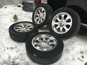Mags fast HD 20'' crome pour Dodge ram et Toyota Tundra