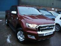 2017 Ford Ranger 3.2 LIMITED 4X4 DCB TDCI 4d 197 BHP PICK UP Diesel Automatic
