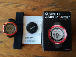 Suunto Ambit2 S RED HR in Original packaging