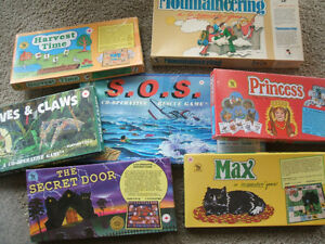 6 CO-OPERATIVE GAMES made by Family Pastimes London Ontario image 1