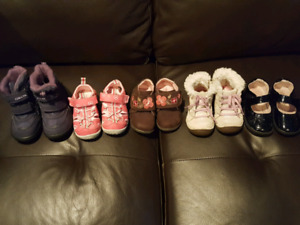 Toddler girl shoes size 5 - 5.5