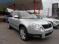 11 (60) SKODA YETI 1.8 SE TSI 4X4 5DR EX-DEMO PLUS ONE LADY OWNER FROM NEW