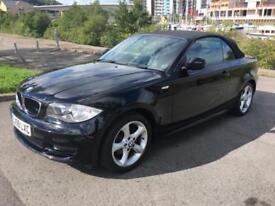 2009 BMW 1 SERIES 118I SPORT CONVERTIBLE PETROL