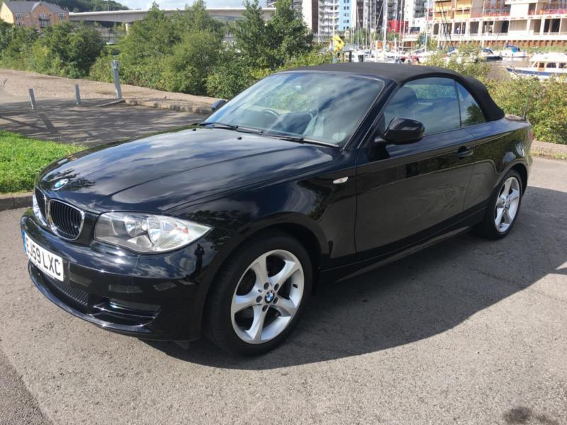 2009 BMW 1 SERIES 118I SPORT CONVERTIBLE PETROL
