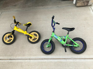 Kids green bike for sale