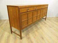 Parker knoll Nathan Retro Solid Teak Sideboard - FREE DELIVERY