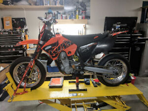 2007 KTM 560smr - factory supermoto with lots of trick bits