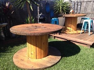 Extra large cable drum/outdoor Table Heathwood Brisbane South West Preview
