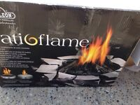 Patio flame fake wood for sale