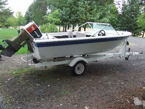 14 Foot Grew Runabout, Trailer and Motor
