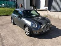 2009 MINI HATCH ONE GRAPHITE HATCHBACK PETROL