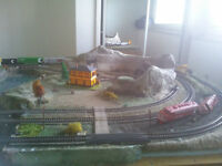 **PRICE REDUCED**  TRAIN SET LAYOUT