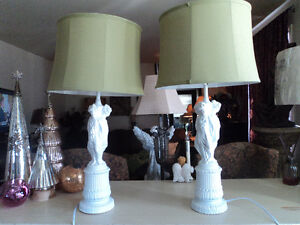French Country Lamps (refinished)