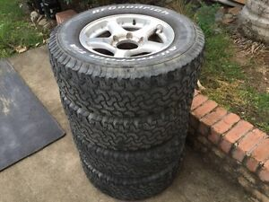 BF GOODRICH ALL TERRAIN TYRES AND CSA ALLOY RIMS Grafton Clarence Valley Preview