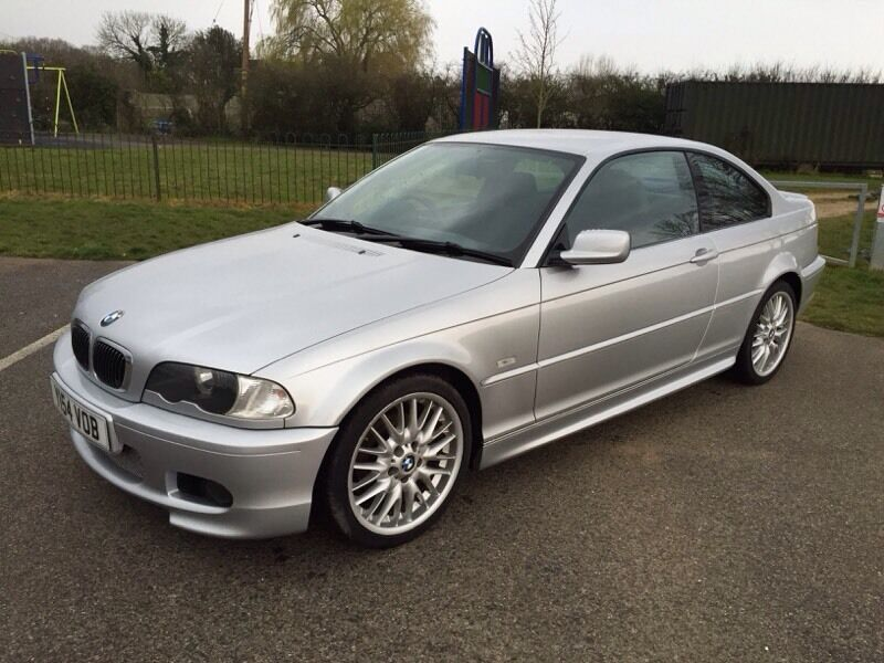 2001 bmw 325i sport coupe silver e46 in fareham. Black Bedroom Furniture Sets. Home Design Ideas