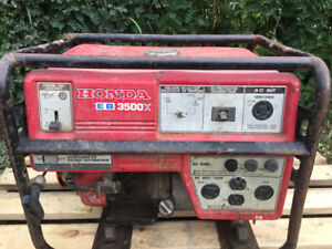 for sale Honda 3500 generator