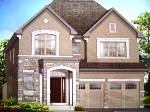 Brand new, luxury, detached house in Oakville on promotion