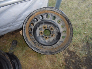 17 inch steel rims Prince George British Columbia image 1