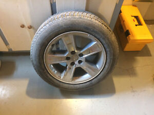 Tire with Rims