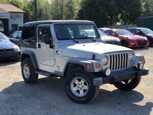 2005 Jeep Wrangler 1-Owner No-Accidents Sport 4X4 Soft/Hard Top