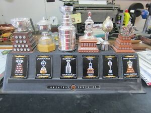 NHL TROPHIES WITH STANLY CUP
