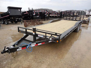 Looking for 8 x18-20' Flat Bed Trailer