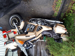 3 motorcycles for sale.