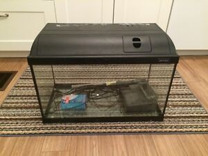 10 Gallon Fish Tank with Heater, Filter and Cover
