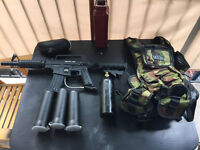 Paintball Kit Bravo one