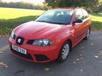 SEAT IBIZA 1.2 Reference, Service History & New MOT. Not Punto, Fiesta, Leon, Focus or Megane.