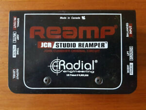 Radial Engineering Reamp passive studio re-amp box