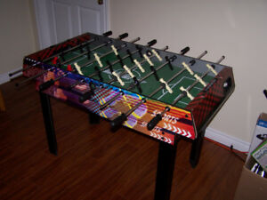 Foosball & Air Hockey Table