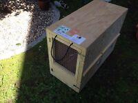 Travel Crate Wood - Dog