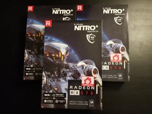 Perfect condition SAPPHIRE NITRO+ Radeon RX 570 4GB