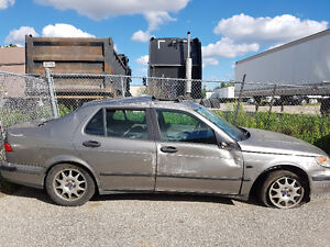 Saab 9-5 for parts, good engine, turbo