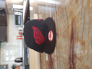 NHL Detroit Red Wings fitted Black/Red