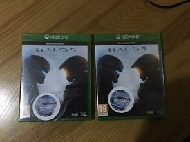 Halo 5 xbox one brand new sealed