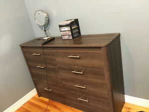 DOUBLE BED, NIGHTSTAND AND DRESSER St. John's Newfoundland image 1