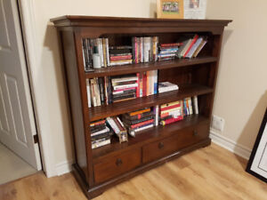 Hand Crafted Solid Wood Book Case
