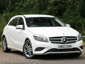 White Mercedes Benz A Class