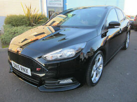 Ford Focus 2.0TDCi ( 185ps ) ( s/s ) 2015.5MY ST2 Black FUL SERVICE