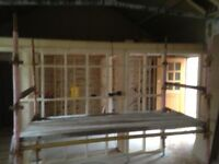 Kwikstage scaffolding and boards